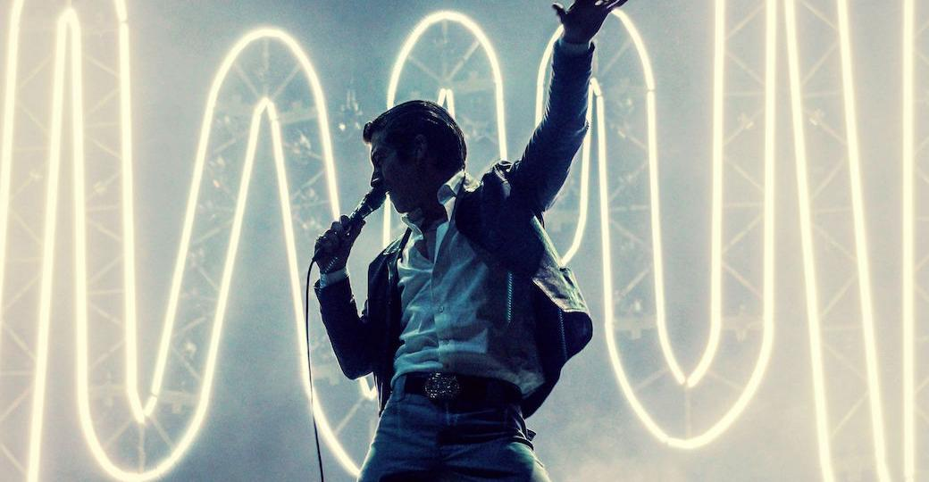 Tournée des festivals européens avec les Arctic Monkeys