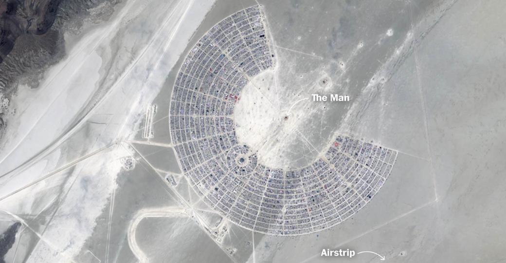 Burning Man : comment est érigée la ville éphémère de Black Rock ?