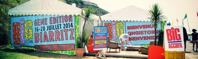 Big festival: vagues et éclectisme musical à Biarritz