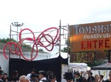 Calumet de la paix au Tomahawk festival