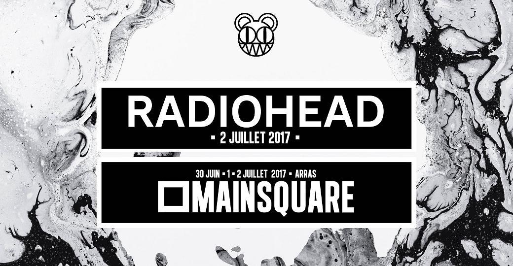 Le Main Square Festival s'offre Radiohead en tête d'affiche !