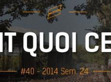 OFQCWE #40: Francos Gourmandes, Aluna, Rio Loco...