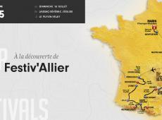Etape 15 - 189.5km - Sur la route de la chanson française au Festiv'Allier