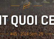 OFQCWE #45: Les Vieilles Charrues, Big Festival, Art Sonic...