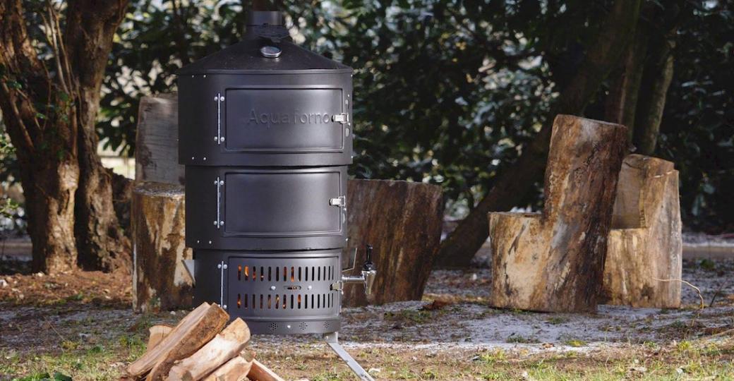 Aquaforno II : devenez le chef du camping avec une cuisine portable