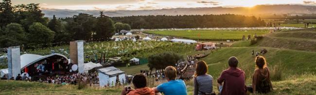 La nouvelle année en Nouvelle-Zélande: trois jours au Rhythm and Vines