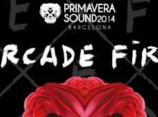 Arcade Fire au Primavera 2014