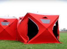 10 (bonnes) raisons de chopper la tente interconnectée Qube Tent