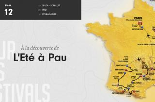 Etape 12 - 214.5 kilomètres - Un été à Pau avec Olivia Ruiz, Rocky et Talisco