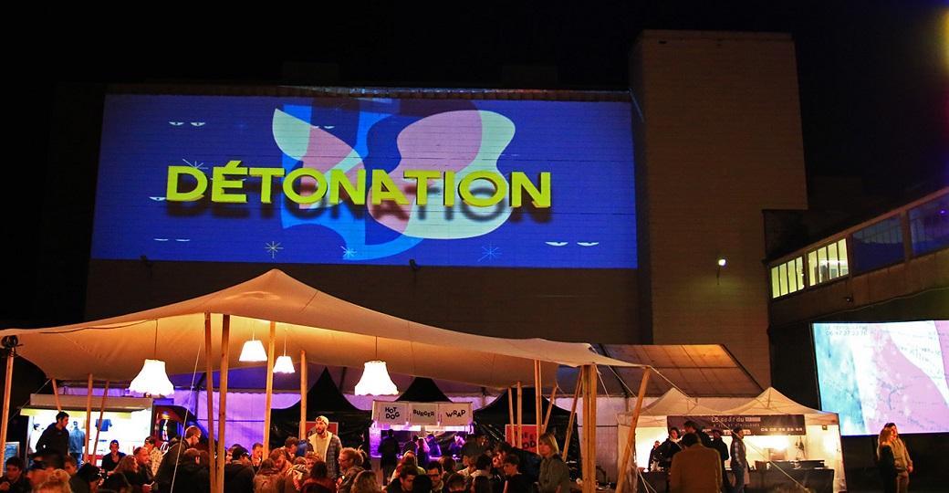 Le festival Détonation illumine Besançon