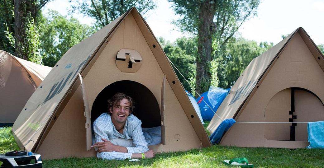 La tente biodégradable bientôt dans nos festivals