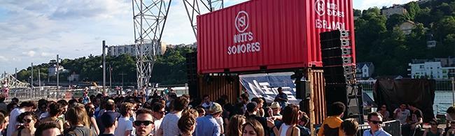 Nuits Sonores: soleil et techno à Confluence
