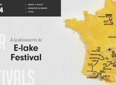 Etape 4 - 207.5km – On se rafraîchit du côté du e-Lake.