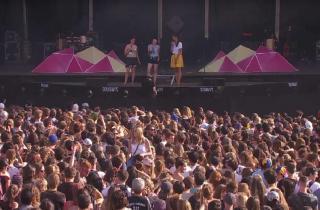 Stop Harcèlement de Rue sur la grande scène du festival Solidays