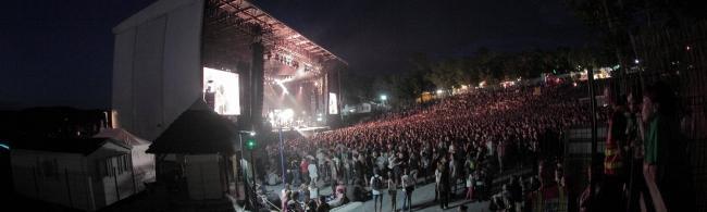 Bertrand Cantat et Stromae à l'Aluna festival