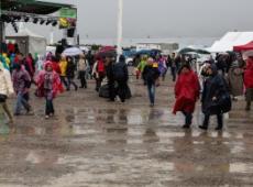 Fête de l'Huma pluvieuse, fête de l'Huma heureuse