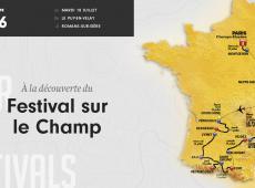 Etape 16 - 165 km - Sortie de route volontaire pour le festival Sur le Champ