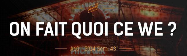 OFQCWE #60: Pitchfork, Rockomotives, Les Primeurs de Massy