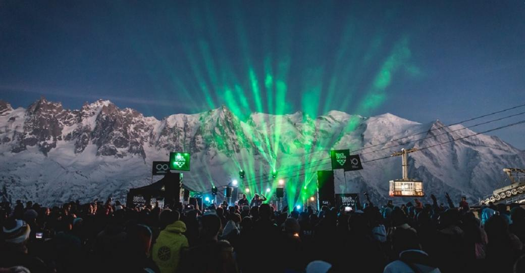 Chamonix Unlimited Festival : Laurent Garnier et Modeselektor dans la poudreuse