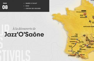 Etape 8 - 187,5 km - Swing dans le Jura