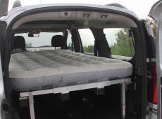 Bedcar : le lit qui se déplie dans ta voiture