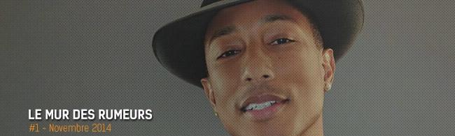 Le mur des rumeurs : Pharrell aux Eurocks, ACDC aux Vieilles Charrues