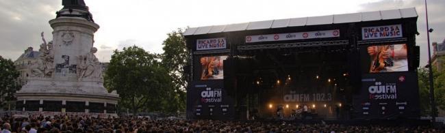 Le OUI FM festival assiège la République