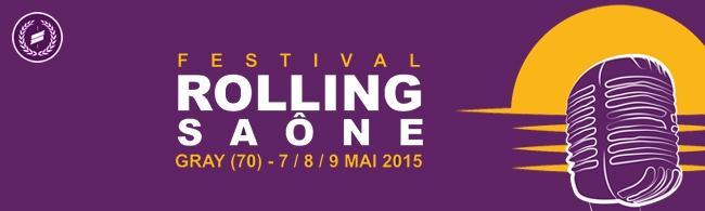 Remportez vos pass pour le festival Rolling Saône