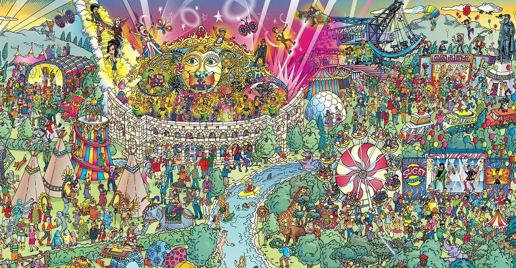 Où est Charlie version festival avec Daft Punk, Bowie et Led Zeppelin