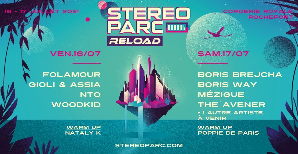 Remportez vos places pour le Festival Stereoparc Reload