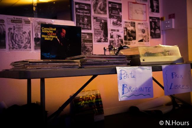 Brocante et vente de CD's autour du Jazz