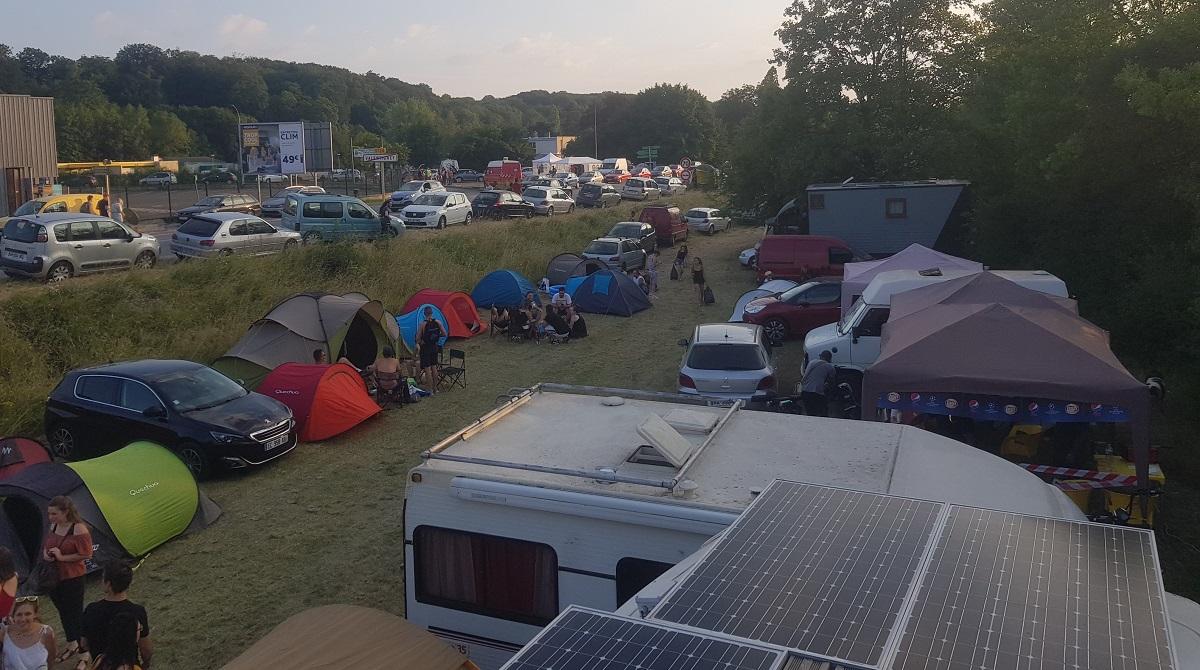 Rencontre et racine 2018 camping